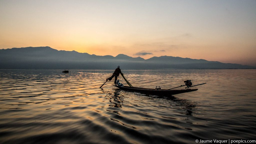 Amazing photos of Myanmar, Real fishermen of Inle Lake, Myanmar (Burma)
